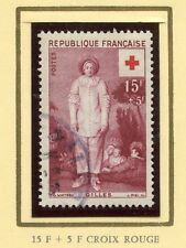 PROMO STAMP / TIMBRE FRANCE CROIX ROUGE OBLITERE N° 1090