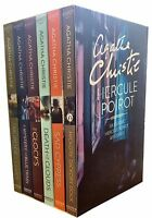 Agatha Christie Hercule Poirot Classic Mysteries 6 Books Collection NEW