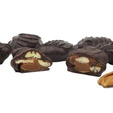 Philadelphia Candies Pecanettes (Caramel Pecan Clusters), Dark Chocolate 1 Pound