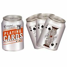 Beer Can Shaped Playing Cards Deck Of 52 Cards
