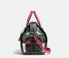 Coach 1941 BADLANDS satchel 25 in b-boy prairie patchwork leather bag 56630