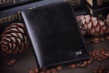 Genuine Black Leather Cover, Braun Buffel Case for Passport