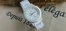 Detomaso Firenze Quartz White Dial Watch #DT1023-P (Men Watch)