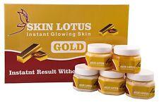 White lotus Unisex Set of 5 All Type Skin Solution Facial Kit for Fairness 500 G