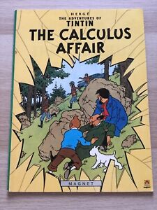 The Adventures of Tintin: The Calculus Affair | Herge (1988) Magnet - Very Good