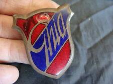 Emblema Ghia logo emblem De Tomaso Maserati Ghia Fiat old vintage italy