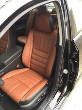 NISSAN ALTIMA S SR KATZKIN LEATHER SEAT COVERS for 2013 2014 2015 2016 2017