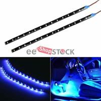 Bande led devil eyes bleu 30 CM 15 Led 12v pour phare Auto Scooter Ordinateur