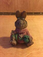 Spring Rabbit Figurine