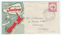 New Zealand 1959 Scout Jamboree cover with special cancel