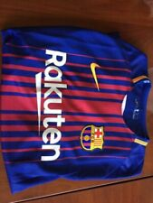Nike FC Barcelona Home Jersey 2017 #8 Andres Iniesta Name Size Large Only