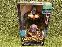 Marvel Avengers Infinity War TITAN Hero Series Thanos With Power FX Port Figure