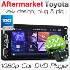 Toyota Hiace Hilux Land Cruiser Kluger Tarago GPS DVD MP3 Player Stereo Radio CD