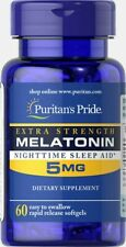 Melatonin 5 mg 60 tablets Puritans Pride - fast delivery to European countries