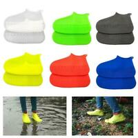 Silicone Overshoes Rain Waterproof Shoe Covers Boot Cover Protector Durable Re