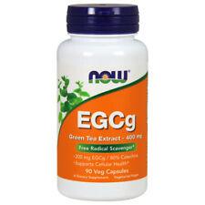 Green Tea Extract, EGCg, 400mg x 90 Veg Capsules - NOW Foods