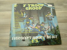 country rock LP PRIVATE australia F TROOP GROOP Everybodys Makin It Big But US