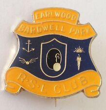 Earlwood Bardwell Park RSL Bowling Club Badge Rare Vintage (L8)