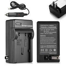 Battery Charger/Car Adapter For Canon NB-2L NB-2LH Rebel XT XTi G9 EOS 350D 400D