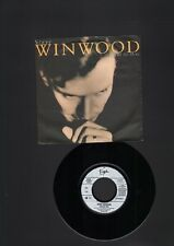 "STEVE WINWOOD I Will Be Here PROMO  7"" SINGLE In The Light Of Day 1991"