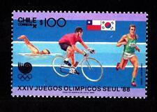 CHILE - CILE - 1988 - Olimpiadi, Seoul