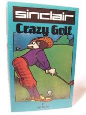 Espectro Retro-cassette Juego-Crazy Golf usados de 48K