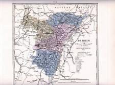 Carte - Departement : BAS-RHIN . Vers 1875