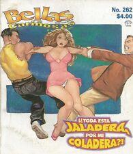 BELLAS DE NOCHE MEXICAN COMIC #262 MEXICO SPANISH SPICY HISTORIETA 2000