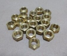 """(20pc.) 3/8-24 x 0.33"""" TALL SELF LOCKING NUTS COPPER PREVAILING TORQUE"""