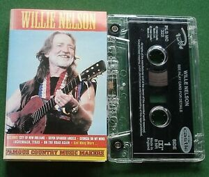 Willie Nelson Famous Country Music Makers Live In Concert Cassette Tape - TESTED