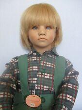 Annette Himstedt 26� Bastian Boy Barefoot Doll, Vinyl Puppen Kinder - 1985