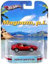 """Hot Wheels Retro """"MAGNUM PI"""" Ferrari 308 GTS QV Mattel 2013"""