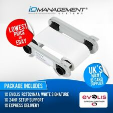 Evolis White Signature Panel Ribbon for Primacy/Zenius • Free UK Delivery