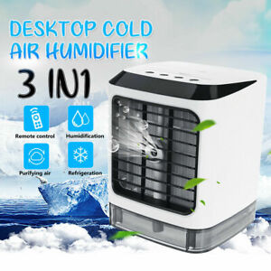3 in 1 Portable Evaporative 3 Speed Fan Air Conditioner Init Cooler Cold Water