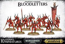 Daemons of Khorne Bloodletters Chaos Warhammer 40k Age of Sigmar Fantasy NEW