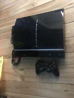 80GB Sony Playstation 3 PS3  Fat System Console +controller - Tested!