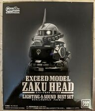 Bandai Limited EXCEED MODEL ZAKU HEAD Lighting & Sound Bust Set Char's Zaku II