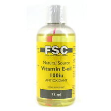 FSC Natural Source Vitamin E Oil (75ml)