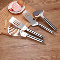 Stainless Steel Leaky Steak Shovel Cheese Slicer Pizza Cutter Frying Spatula
