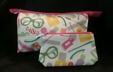 Clinique Cosmetic Bags, 2-pc (Bag & Pouch)