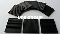 """8 Anti Vibration isolation pads 4""""x4""""x3/8"""" ALL RUBBER INDUSTRIAL HVAC PUMP"""
