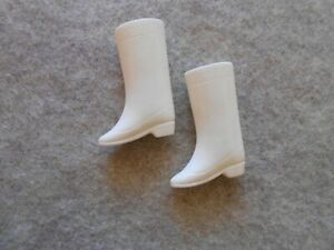 Vintage Barbie Francie  Doll Squishy White Super Groovy Go-Go Boots-DARLING!