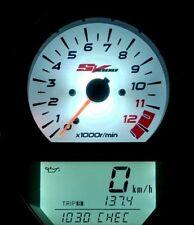 SUZUKI SV 650/1000 BJ 03-08 TACHO BELEUCHTUNG UMBAU WEIß LED SET