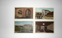 LOT OF 4 OLD FORT NIAGARA  NY NEW YORK  ANTIQUE  POSTCARDS