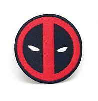 DeadPool logo DeadPool film Brand New Iron/Sew on Embroidered Patch#1243