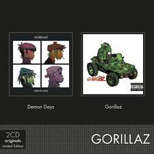 GORILLAZ - DEMON DAYS/GORILLAZ 2 CD NEW+