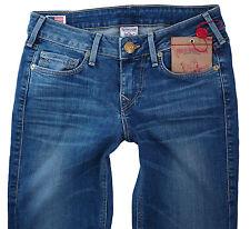 True Religion Womens Jeans W-27 L-34 Trisha Lonestar Bootcut Leg