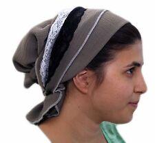 Gray Sinar Tichel Scarves Head Wrap Hair Covering Headcovering Bandana Chemo