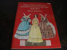 Godey's Lady's Book-Paper Dolls-Dover-1977-Uncut-9x 12