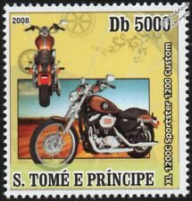 HARLEY DAVIDSON XL 1200C Sportster 1200 Custom Motorbike / Motorcycle Stamp